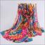ผ้าพันคอชีฟอง หลากสีโทนชมพู thumbnail 1