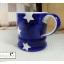 แก้วมักเซรามิกสีน้ำเงินลายดาว thumbnail 8