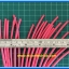 1x Heat Shrink Tube 3.0mm Red Color Length 1 meter 3M Brand (ท่อหด 3.0มม ยี่ห้อ 3M) thumbnail 2