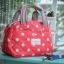กระเป๋าถือ + สะพาย 2 ซิป เนื้อบุ thumbnail 2