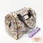 กระเป๋า Chalita wu + สายสะพาย สีม่วง ลายนาฬิกา thumbnail 2
