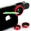 เลนส์เสริม 3 in 1 Fish Eye + Wide Angle + Micro Lens Kit สำหรับมือถือทุกรุ่น thumbnail 6
