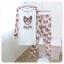 ชุดนอน PINK เซทเสื้อแขนยาว กางเกงยาว ลายแมว สีชมพู