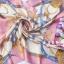 ผ้าพันคอผ้าซาติน ลายมงกุฏสีชมพู thumbnail 1
