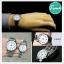 นาฬิกาคู่ชายหญิง นาฬิกาข้อมือ คู่ ชายและหญิง นาฬิกาข้อมือคู่ (Pair Watch) Couple Watches Set นาฬิกาคู่ ยี่ห้อ CASIO เรือนเงิน หน้าปัดขาว รุ่น 1303D-7B thumbnail 8