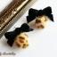 เลือกสีด้านในค่ะ ต่างหู Little Cute Leopard Fur Ball Korea ER30179 thumbnail 8
