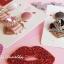 เลือกสีด้านในค่ะ ต่างหู Lux Velvet Heart Korea ER4512 thumbnail 7