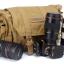 กระเป๋ากล้อง Caden F1 Canvas Shoulder Camera Bag สีกากี (Khaki) thumbnail 3
