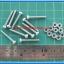 10x M3* 20mm Screws + 10x M3 Nuts (สกรูหัวกลม+น็อตตัวเมีย ขนาด 3มม ยาว 20มม) thumbnail 2