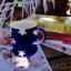 แก้วมักเซรามิกสีน้ำเงินลายดาว thumbnail 6