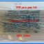 100x Resistor 500 Ohm 1/4 Watt 1% Metal film Resistor (100pcs per lot) thumbnail 2