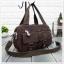 กระเป๋าเนื้อ kipling + สะพาย ใบเล็ก สีน้ำตาล thumbnail 1