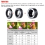 Viltrox DG-EOS M Automatic Extension Tube 10mm and 16mm Auto Focus,For Canon EF-M Mount Series Mirrorless Camera and Lens thumbnail 8