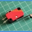 1x V-156-1C25 Micro Limit Switch with Roller SPDT NO NC Com Pins thumbnail 4