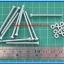 10x M3* 40mm Screws + 10x M3 Nuts (สกรูหัวกลม+น็อตตัวเมีย ขนาด 3มม ยาว 40มม) thumbnail 2