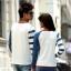 เสื้อคู่ เสื้อคู่รัก ชุดพรีเวดดิ้ง ชุดคู่รัก เสื้อคู่รักเกาหลี เสื้อผ้าแฟชั่น ผู้ชาย + ผู้หญิง เสื้อแขนยาวสีขาว ตัดด้วยแขนเสื้อลายฟ้าขาว ผลิตจากผ้าฝ้าย เนื้อนิ่ม หนา ใส่ สบาย งานจริงสวยๆมากค่ะ thumbnail 20