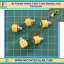 5x Female Yellow Color 4 mm Banana Jack Connector thumbnail 1