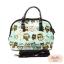 กระเป๋า Chalita wu + สายสะพาย โค้ง สีฟ้า ลายนกฮูก thumbnail 1