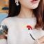 เลือกสีด้านในค่ะ ต่างหู Heart and Fur Korea ER4474 thumbnail 2
