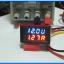 1x Digital DC 0-200V 10A Voltmeter Ammeter Red Blue module thumbnail 4