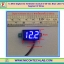 1x Mini Digital DC Voltmeter module 5-30 Vdc Blue LED 7's Segment 2 Wires thumbnail 1