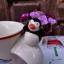 แก้วมัคเซรามิคปากแตร รูปเพนกวินท้าลมหนาว thumbnail 6