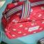 กระเป๋าถือ + สะพาย 2 ซิป เนื้อบุ thumbnail 3