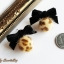 เลือกสีด้านในค่ะ ต่างหู Little Cute Leopard Fur Ball Korea ER30179 thumbnail 9