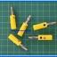 5x Male Banana Plug 4mm Connector Yellow Color thumbnail 2