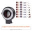 Viltrox EF-E II AF Auto Focus Adapter for sony E-mount cameras to use canon EF lens Reduce focal length and Aperture three Stop thumbnail 5