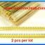 2x Yellow Color Pin header 1x40 ways 2.54mm Straight SIL thumbnail 2