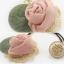 เลือกสีด้านในค่ะ ยางรัดผมดอกกุหลาบสไตล์เกาหลี HR7628 thumbnail 13