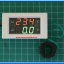1x Digital AC Voltmeter Ammeter 60-300VAC 100A LED 7's Segment Module (White) thumbnail 4