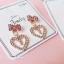 เลือกลายด้านในค่ะ ต่างหูเกาหลี ก้านเงินแท้ 925 Romantic Jewel Korea ER124 thumbnail 6