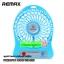 ราคาพิเศษ!! Remax พัดลมมือถือ รุ่นพกพา มีแบ็ตเตอรี่ในตัว ลมแรง เย็นเร็วทันใจ Mini Portable Fan With Built in LI-on Battery thumbnail 5