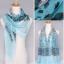 ผ้าพันคอชีฟอง Muticolor เสือดาวสีฟ้า thumbnail 1