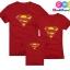 เสื้อครอบครัว ชุดครอบครัว เสื้อ พ่อ แม่ ลูก ลาย ซุปเปอร์แมน ผลิตจากผ้าคอตตอน 100% thumbnail 7