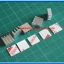 5x Mini Heatsink 11x11x5mm + 5xThermal Glue Tape 3M Brand (แผ่นระบายความร้อน+แผ่นกาว 3M) thumbnail 2