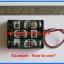 1x AA Battery Holder Socket 3x AA Size (กะบะถ่าน AA ขนาด 3 ก้อน) thumbnail 4