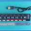 1x USB 2.0 High Speed Hub 7 Channel USB Hub with On/Off Switches thumbnail 4
