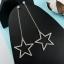 ต่างหู Long Diamond Star ER778552 thumbnail 1