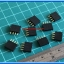 10x Female Pin Header 1x4 Pin Single Row Pitch 2.54mm (10pcs per lot) thumbnail 2