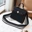 กระเป๋าถือ + สะพายข้าง HERMES mini style ดำ thumbnail 2