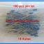 100x Resistor 10 Kohm 1/4 Watt 1% Metal film Resistor (100pcs per lot) thumbnail 3