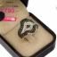 แหวนเพชร ประดับ เพชรCZ แหวนทรงดีไซน์เก๋ สวยหรูดูแปลกตาฝังเพชรกลมขาวและเพชรกลมดำ งานเวอร์วังอลังการ เพิ่มความโดดเด่นให้กับเรียวนิ้ว thumbnail 2
