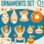 TABOM ORNAMENTS BLANKET thumbnail 1