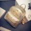 กระเป๋าเป้เล็ก สี Gold thumbnail 3