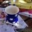 แก้วมักเซรามิกสีน้ำเงินลายดาว thumbnail 7