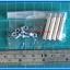 4x M3 Spacers 25 mm + 4x M3 Screws + 4x M3 Nuts (เสารองพีซีบีแบบปลายผู้เมีย 25 มม) thumbnail 2