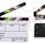 (Q005) whiteboard Movie Film Slate color ( white ) thumbnail 2